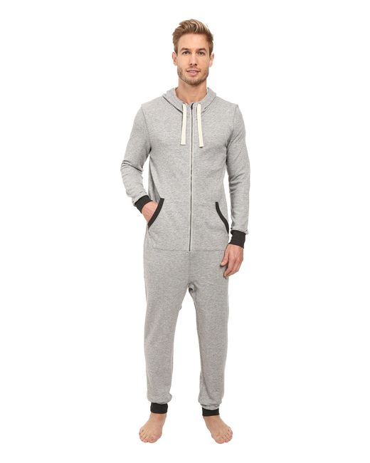 2xist | Gray French Terry Flight Suit for Men | Lyst