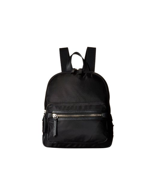 Vince Camuto - Black Patch Nylon Small Backpack - Lyst