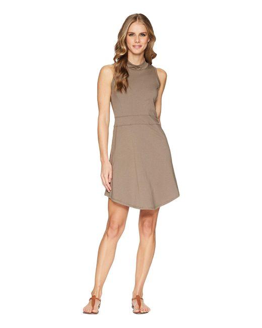 Toad&Co - Summerdance Sleeveless Dress (falcon Brown) Women's Dress - Lyst