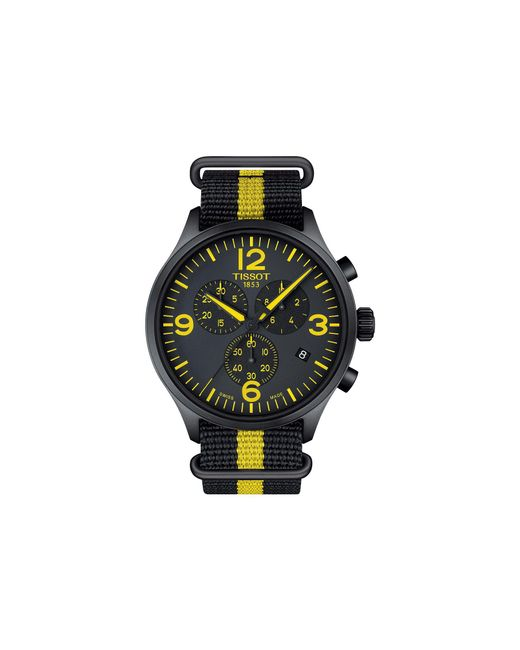 Tissot - Black Chrono Xl Tour De France Collection - T1166173705700 for Men - Lyst