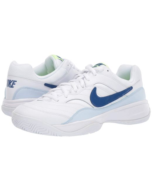 aff24cea4f6 Nike - White Court Lite (black bright Crimson aurora Green) Men s Tennis ...