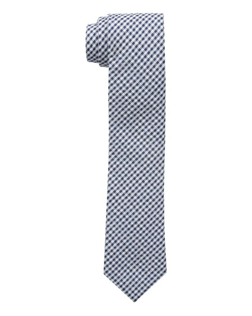 Tommy Hilfiger   Blue Micro Gingham for Men   Lyst