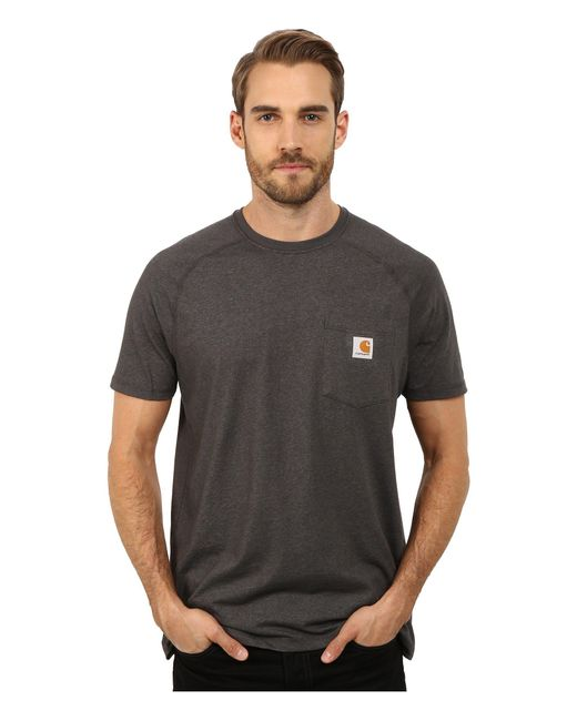 Carhartt - Black Force® Cotton Delmont Short-sleeve T-shirt for Men - Lyst