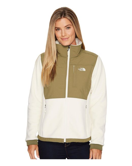 06ebba2f3e2d ... The North Face - Denali 2 Jacket (vintage White burnt Olive Green)  Women s ...