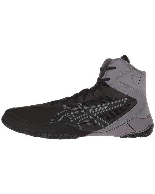 91edab597a17 ... Lyst Asics - Matcontrol (black black) Men s Wrestling Shoes for Men ...