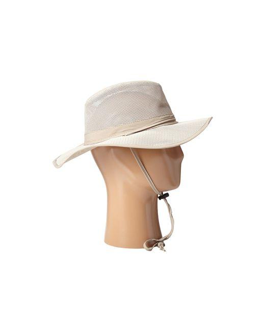 ... Stetson - Natural Big Brim Mesh Safari With No Fly Zone Insect Shield  Fabric (khaki ... 44f7b5c6f0fa