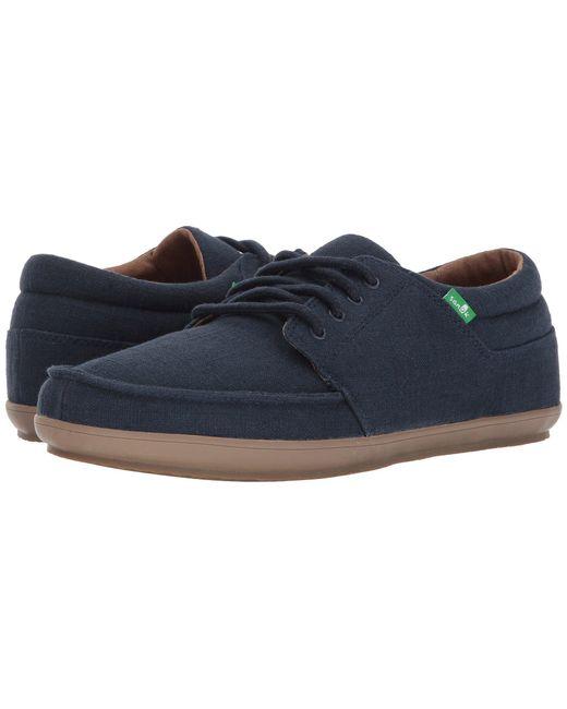 Sanuk - Blue Tko (black 2) Men's Lace Up Casual Shoes for Men - Lyst