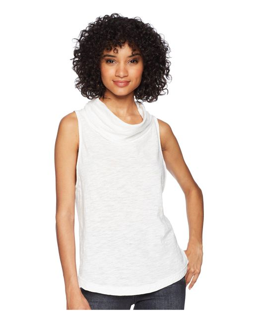 Free People - White Summer Thing Tank Top (lilac) Women's Sleeveless - Lyst