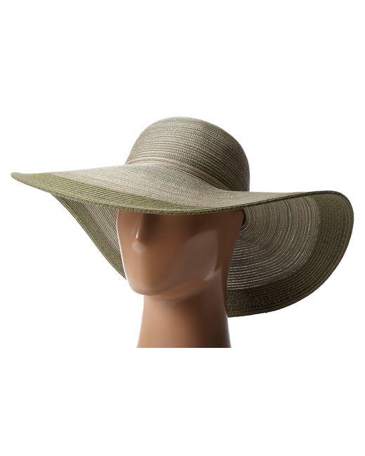 San Diego Hat Company - Green Mxl1016 Mixed Braid Large Brim Floppy (sage) Traditional Hats - Lyst