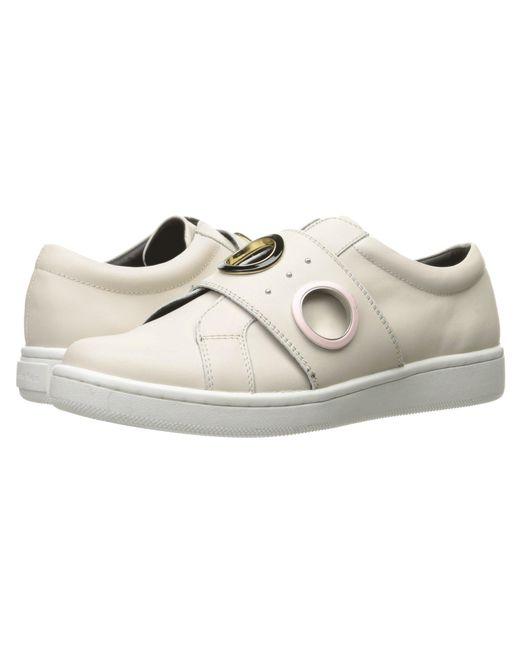Calvin Klein - Danette (soft White Leather) Women's Shoes - Lyst