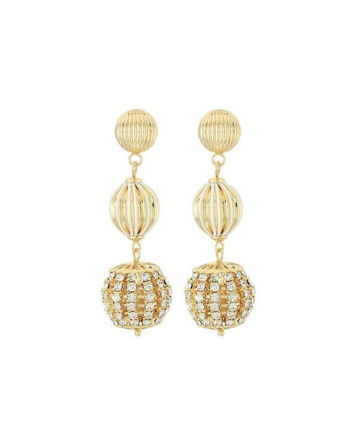 Lilly Pulitzer | Metallic Starburst Drop Earrings | Lyst
