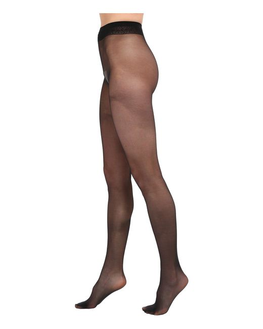 Falke - Black Matt Deluxe 20 Tights - Lyst