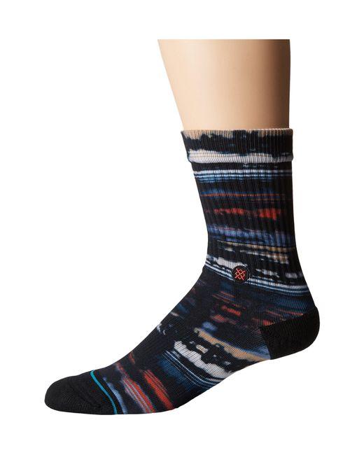 Stance - Blue Baja Hurricane (multi) Men's Crew Cut Socks Shoes for Men - Lyst