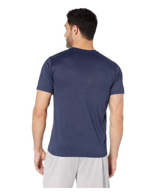 fb5c89d8 ... Nike - Blue Legend 2.0 Short Sleeve V-neck Tee (obsidian Heather/matte  ...