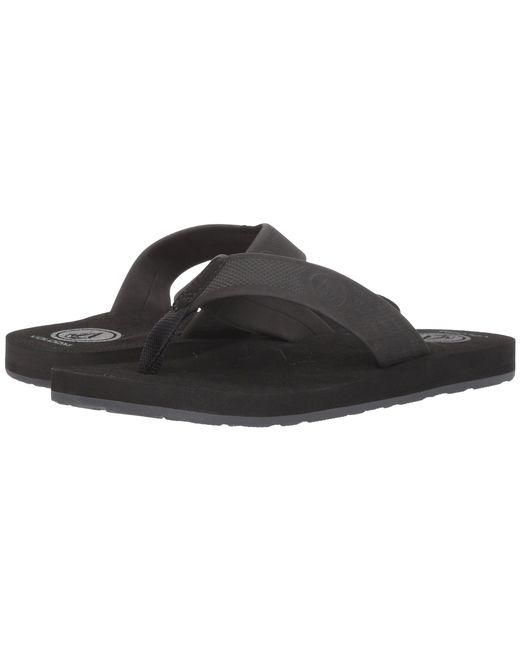 Volcom - Daycation (black Destructo) Men's Sandals for Men - Lyst