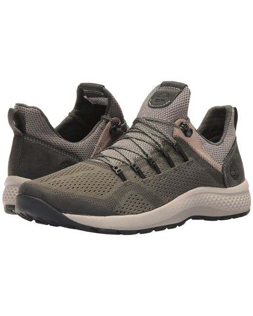 Timberland - Flyroam Trail Low (dark Green) Men's Lace Up Casual Shoes for Men - Lyst