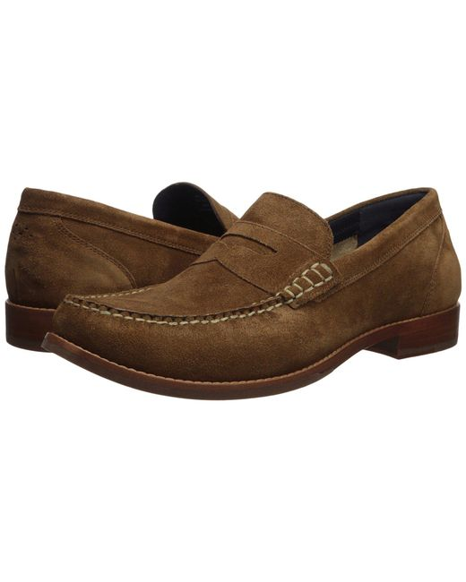 Cole Haan - Brown Pinch Grand Casual Penny Loafer (muir Suede) Men's Shoes for Men - Lyst