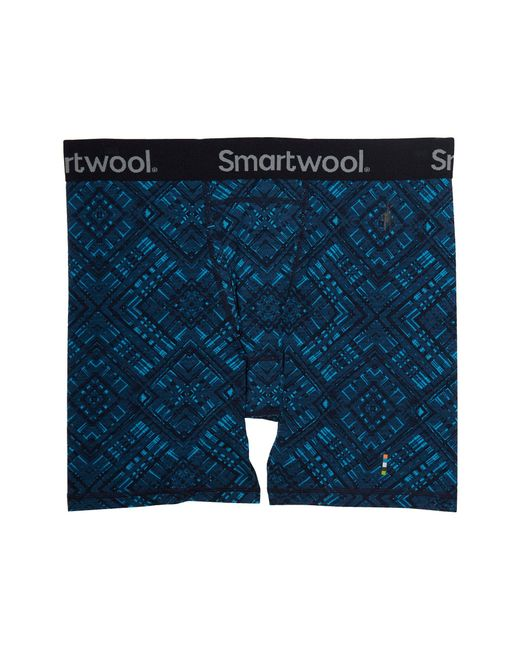 Smartwool - Blue Merino 150 Printed Boxer Brief for Men - Lyst