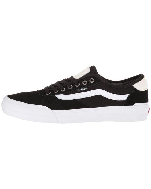 30cb406d8566 ... Vans - Black Chima Pro 2 ((retro) Slate Green) Men s Skate Shoes ...