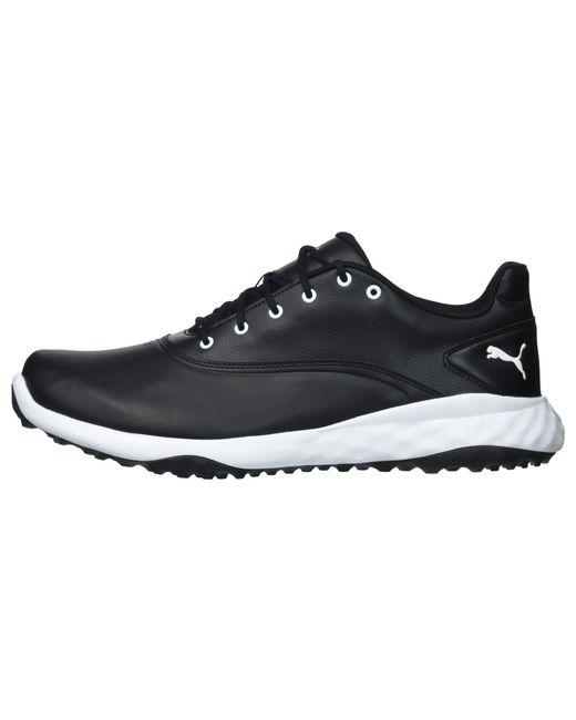 ... PUMA - Grip Fusion (puma White puma Black blue) Men s Golf Shoes ... e33a1f44d