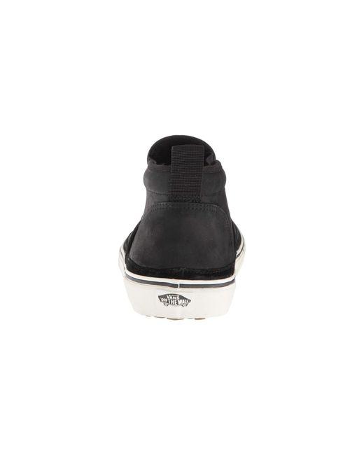 343e25a9bbe ... Vans - Mid Slip Sf Mte (black marshmallow) Men s Skate Shoes for Men ...
