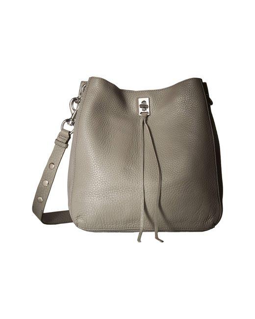 Rebecca Minkoff Gray Darren Shoulder Bag Mink Handbags Lyst