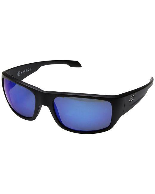Kaenon - Blue Anacapa (matte Tortoise/copper 12 Polarized) Sport Sunglasses for Men - Lyst