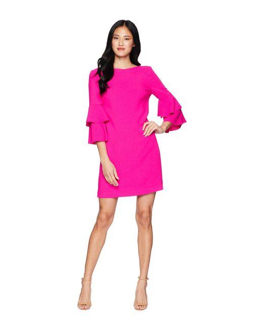 Trina Turk - Pink Leona 2 Dress (brilliant Fuchsia) Women's Dress - Lyst