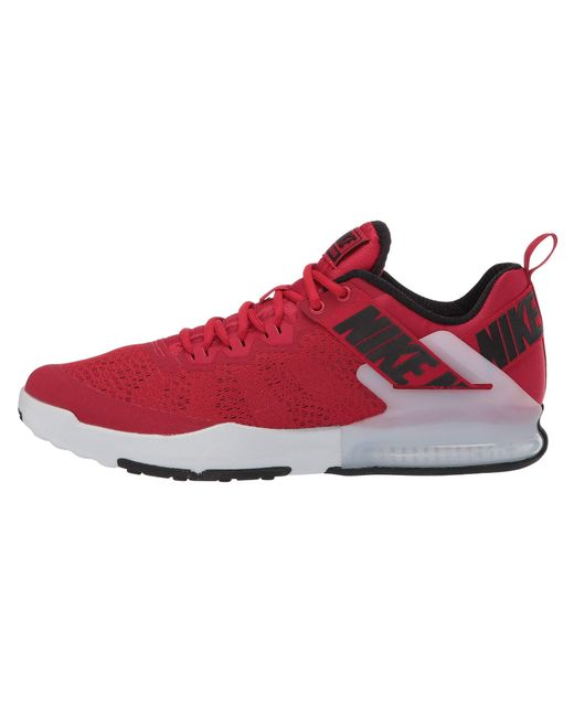 799a73cc9c794 ... Nike - Red Zoom Domination Tr 2 (black white) Men s Cross Training  Shoes ...