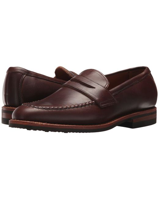 Allen Edmonds - Brown Addison (natural Chromexcel Leather) Men's Slip-on Dress Shoes for Men - Lyst