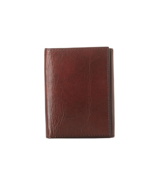 Bosca - Brown Old Leather Collection - Trifold Wallet (cognac Leather) Bill-fold Wallet for Men - Lyst