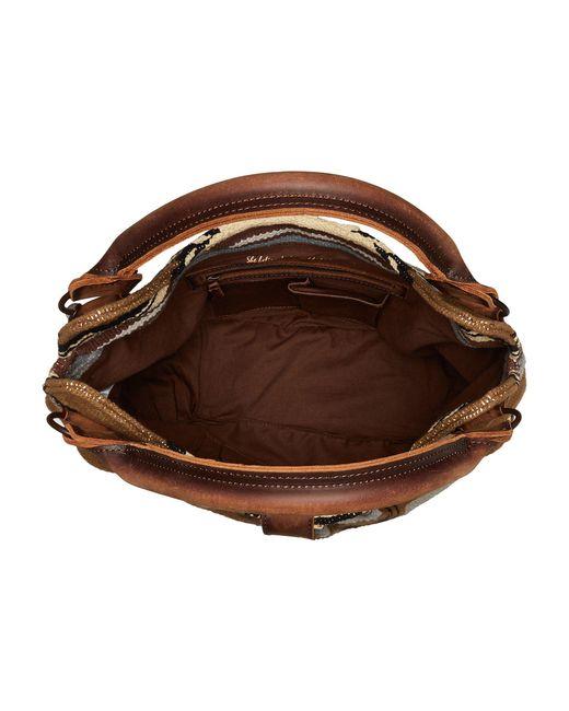 318c358b1658 ... STS Ranchwear - Serape Slouch Bag (olive Serape tornado Brown) Bags -  Lyst ...