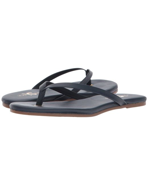 Yosi Samra - Blue Rivington (black Leather) Women's Shoes - Lyst