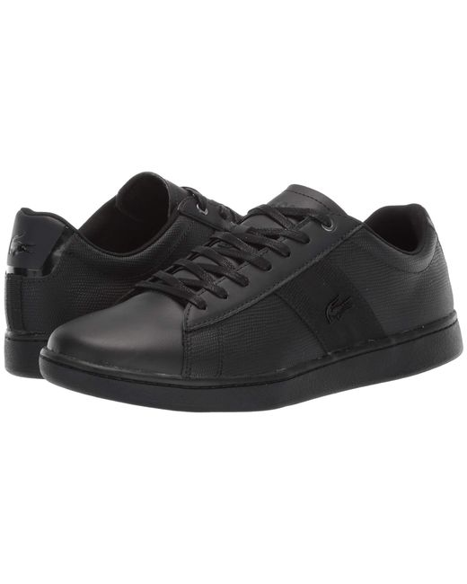 eed6ff086e4 Lacoste - Black Carnaby Evo 119 5 Sma (white white) Men s Shoes for ...