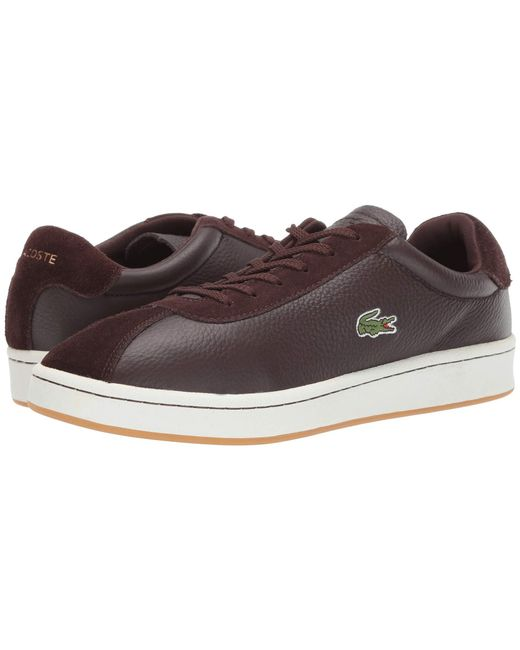 c96c4f571dd0 Lyst - Lacoste Masters 119 3 Sma (off-white red) Men s Shoes in ...