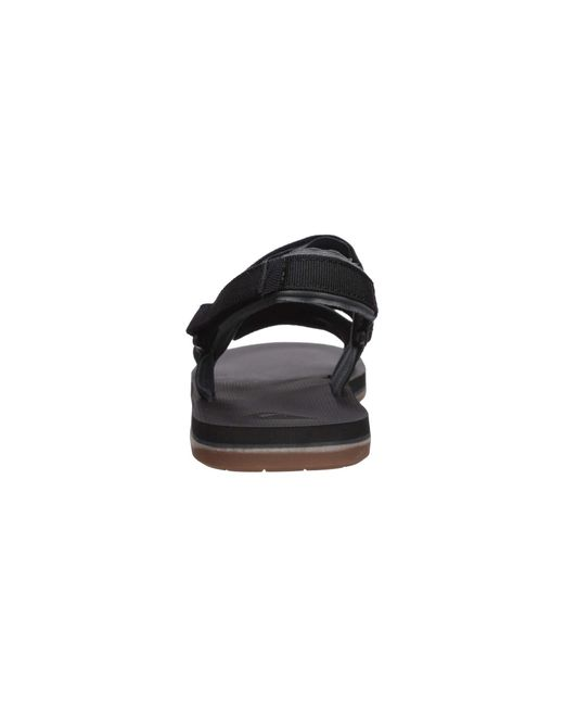 89aad0005ed ... Quiksilver - Caged Oasis (black grey brown) Men s Sandals for Men ...