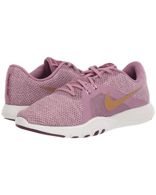 e0d76d2ee Nike - Multicolor Flex Trainer 8 Amp (plum Dust metallic Element Gold pink  ...