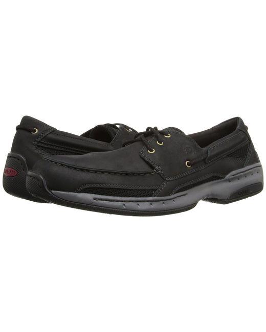 Dunham - Black Captain (tan Leather) Men's Slip On Shoes for Men - Lyst