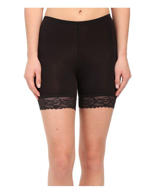 Hanky Panky - Black Silky Skin Biker Shorts - Lyst