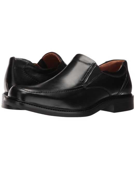 Johnston & Murphy - Multicolor Tabor Casual Dress Slip-on (black Calfskin) Men's Slip-on Dress Shoes for Men - Lyst