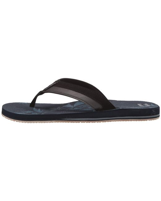 86c6114f6 ... Billabong - Blue All Day Impact Print (navy 2) Men s Sandals for Men ...