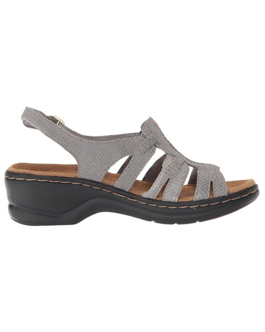 8f465d938fd ... Lyst Clarks - Gray Lexi Marigold Q (pewter Leather) Women s Sandals ...