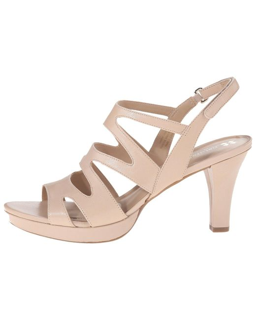 424abf56e6bd ... Naturalizer - Brown Pressley (taupe Leather) High Heels - Lyst ...