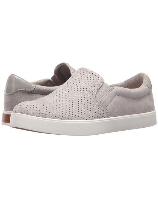 Dr. Scholls - Gray Madison (hydrangea Chop Microfiber) Women's Shoes - Lyst