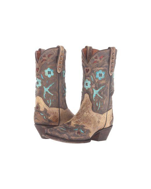 Dan Post - Brown Vintage Bluebird (tan) Cowboy Boots - Lyst