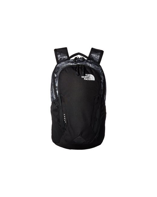 The North Face - Vault Backpack (tnf Black Textured Camo Print/tnf Black) Backpack Bags - Lyst