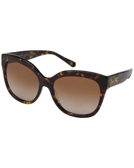 e9e6ac745415 COACH - 56 Mm Hc8264 L1083 (tortoise/brown Gradient) Fashion Sunglasses -  Lyst ...