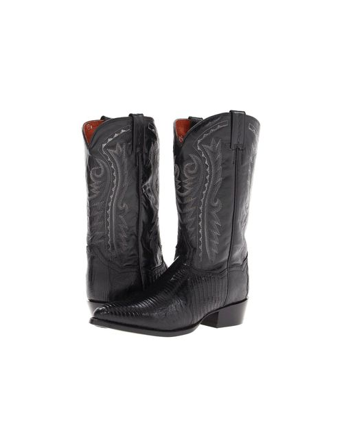 Dan Post - Raleigh (black) Cowboy Boots for Men - Lyst