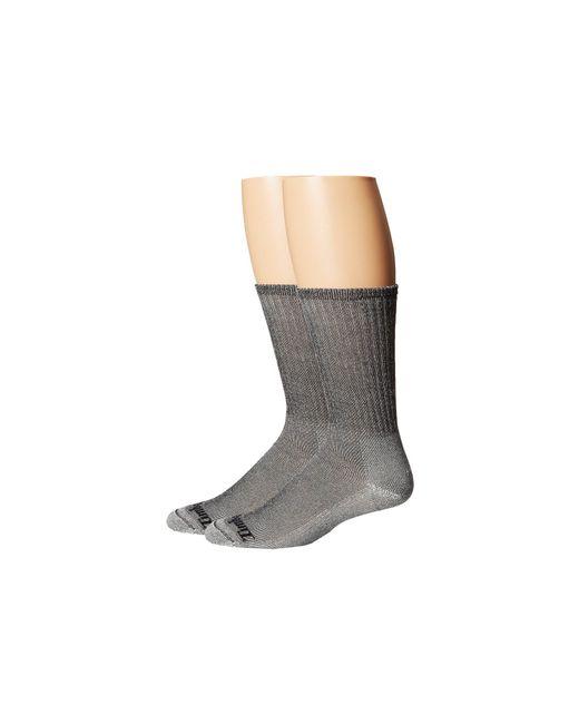 Timberland - Gray Tm30873 Merino Wool Crew 2-pair Pack for Men - Lyst