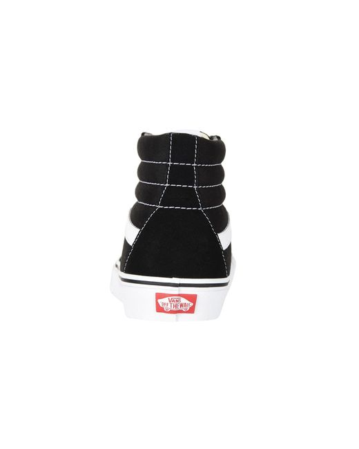 b8f243fb4e Lyst - Vans Sk8-hitm Core Classics (black black black) Shoes in ...